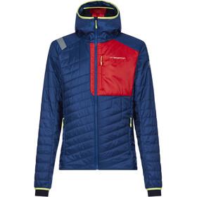 La Sportiva Meridian Jacket Men opal/poppy